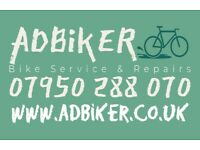 Bike Servicing & Repairs - Based in Littleover, Derby