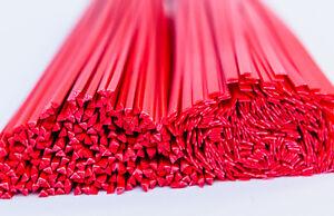 hdpe fil de soudure plastique mix rouge 30 pi ces baguettes plastique mix ebay. Black Bedroom Furniture Sets. Home Design Ideas