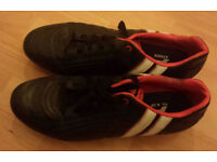 Black rugby boots, size 11 (adult)