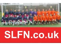 FOOTBALL TEAM LOOKING FOR PLAYERS IN SOUTH LONDON. New players london ah2g