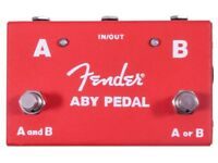 Fender ABY Pedal - brand new in unopened box