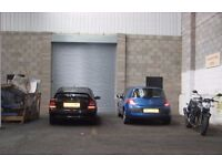 1000 sqft for £103.00 pw SECURE HIGH BAY UNIT IN HALESOWEN WITH COMMUNAL YARD AREA AND PARKING.