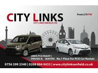 PCO CAR RENTALS ENFIELD