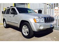 2005 55 Jeep Grand Cherokee 3.0 CRD V6 Limited Station Wagon 4x4, Full Service History, Top Spec