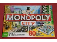 'Monopoly City' Board Game (new)