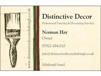 Distinctive Decor: Professional Painting & Decorating Services in Edinburgh