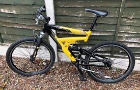 Raleigh Jirra Mountain Bike - Full Suspension