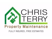 Property Maintenance - Decorating, Fencing / Repair, Turfing / Astro, Landscaping, Small DIY jobs