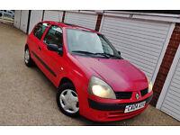 ## CHEAP 2004 04 Renault Clio 1.5 DCi Expression Diesel ##