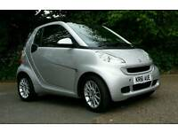 Smart Car fortwo Silver low milage.2012 reg