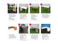 Second Hand & New Office Desks For Sale (Hull, Leeds). Delivery Available. Desk Sale - Low Prices