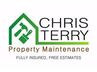 Property Maintenance - Decorating, Fencing / Repair, Turf / Astro, Small scale landscaping, Odd Jobs