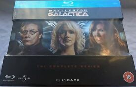 Battlestar Galactica - The Complete Series Blu-ray (2004-2009) - New, Sealed