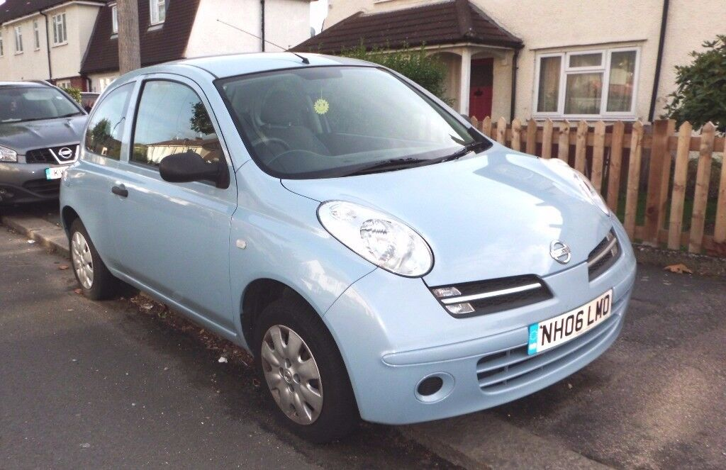 NISSAN MICRA 2006 1.2s LOW MILEAGE only 40000 MOT DRIVES WELL CROYDON