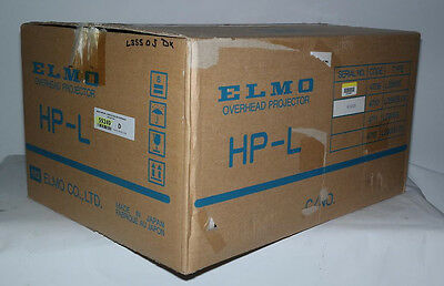 New Elmo Hp-l 3550s Dx Deluxe Overhead Projector Hp-l3550s Over Head Class