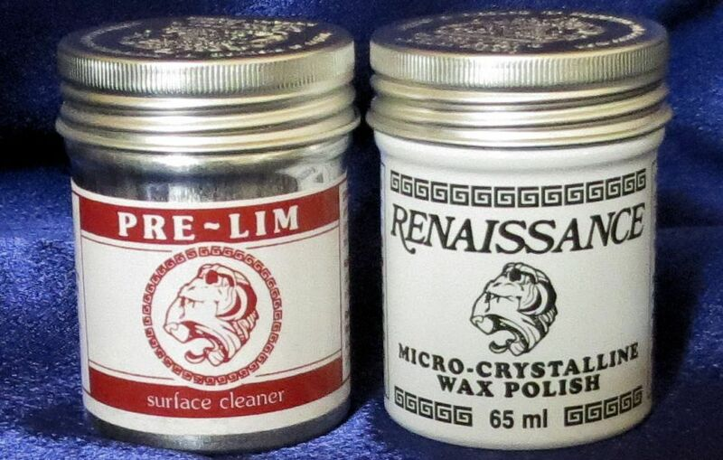 Pre-Lim Surface Cleaner & Renaissance Wax Micro-Crystalline Wax Polish - 65ml