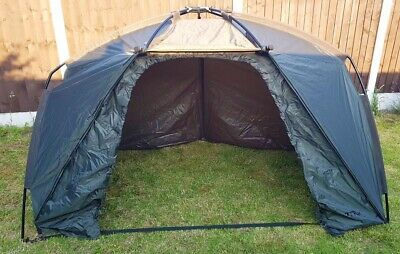 NASH TITAN HIDE CARP FISHING BIVVY SHELTER T4200 1 MAN QUICK ERECT OVERNIGHTER