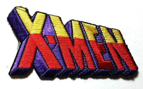"""X-Men Color Logo 3.5"""" Embroidered Patch- Die Cut- Mailed from USA"""