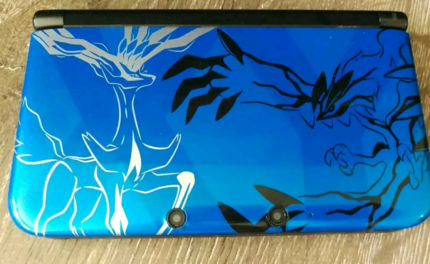 Nintendo 3DS Limited Edition Pokemon Blue X & Y