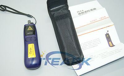 Vls-8-10 10mw Visual Fault Locatorfiber Optic Cable Tester Meter Up 10km
