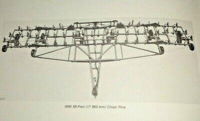 John Deere 1650 Drawn Chisel Plow Operators Owners Manual Original Jd G9 179