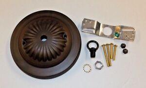 5  ANTIQUE BRONZE FINISH CEILING CANOPY KIT FOR LIGHT FIXTURES NEW 10801AJB & Light Canopy Kit | eBay