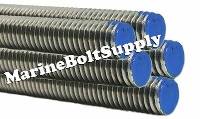 Type 18-8 Stainless Steel Threaded Rod Stainless All Thread 3 Foot Sections