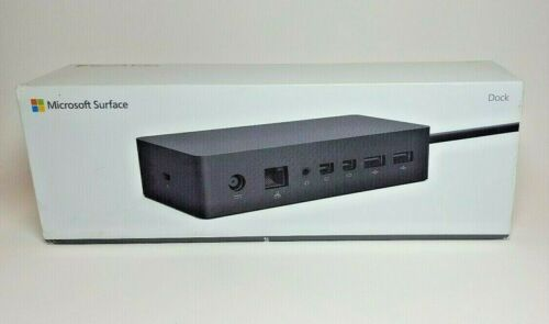 Microsoft Surface Dock for Pro 7, 6, 5, 4, 3, Book-Docking Station Display Ports