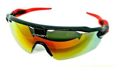 Mens or Womens Sunglasses 1/2 Frame Eyewear Lens Sports Wrap Goggle Vented (Womens Sports Sunglasses)
