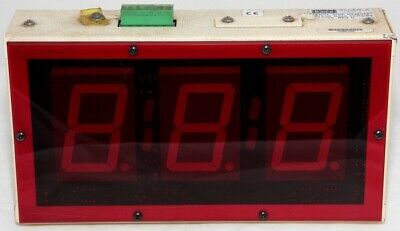 Hme Drive Thru Led Timer Display Sys30 R30s System 30 Sngl Side Remote 3 Digits