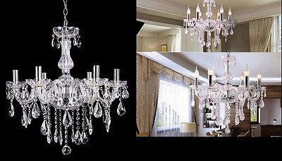Vintage Ceiling lights Lamp lighting Fixture Crystal Chandelier W/6 Arms Pendant