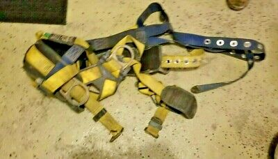 Dbi Sala Delta I-safe Full Body Safety Harness Yellow Large Used