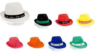 CAPPELLO UNISEX UOMO DONNA PANAMA per FESTE PARTY EVENTI vari colori NEW