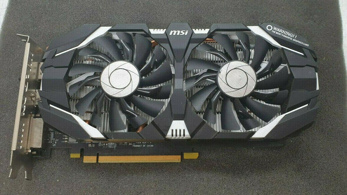 MSI NVIDIA GeForce GTX 1060 OCV1 6GT OC 6GB GDDR5 Grafikkarte