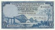 Bank of Scotland £1 Note