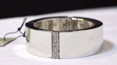 TS jewellery TAKING SHAPE Keep The Rhythm Bracelet diamanté silvertone metal NWT