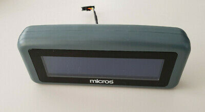 Micros 500827-007 Rear Customer Display - Tested Working