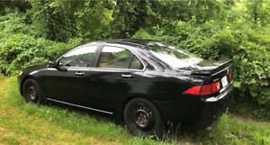 2004 black Acura tsx on sale