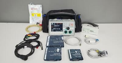 Zoll E Series Biphasic 12 Lead Spo2 Nibp Ecto2 Pacing Capnostat Patient Monitor
