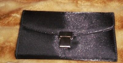 NEW BLACK Fabric   WALLET for sale  Shipping to India