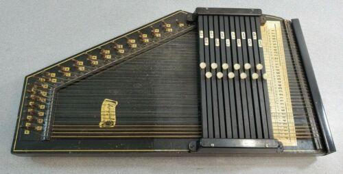 Vintage Autoharp - Oscar Schmidt 36 String 12 Chord Bar Instrument