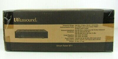 Russound ST1 Smart Tuner features RDS (Radio Data System)
