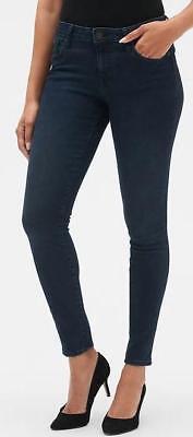 NWT Womens GAP Denim Legging Jeans Mid Rise Dark Indigo Jeggings Sculpted (Denim Mid Rise)