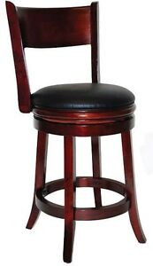 "Palmetto Swivel 24"" Counter Stool, New"