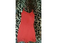 Brand new red playsuit