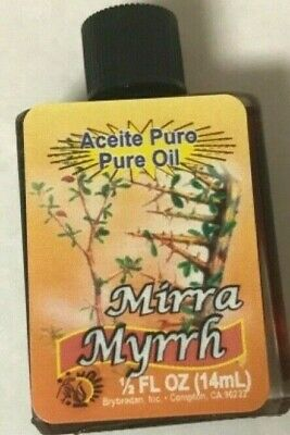 Myrrh Oil 1/2 Oz Pure Oil Brybradan Arrayan Aceite Pure Nice Aroma Mirra, usado segunda mano  Embacar hacia Argentina