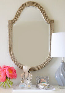Two 21''x32''Lancelot Oval vanity/wall Mirrors new in box
