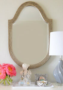 Two beautiful Lancelot Oval vanity/wall Mirrors new in box