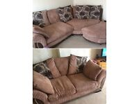 Corner suite and matching two seater