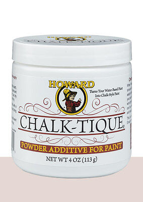 Howard Chalk-Tique Powder Additive Transforms Paint to Chalk paint - Shabby Chic